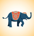 indian elephant vector image