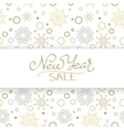 Merry Christmas sale background art vector image vector image