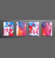 Mixture of acrylic paints liquid marble texture