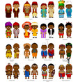 peoples of africa vector image
