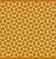 seamless pattern braided gold ribbon vector image vector image