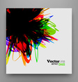 Chaotic Background Design vector image vector image