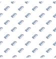 Escalator pattern cartoon style vector image