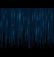 matrix background eps10 vector image vector image