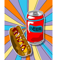 pop art graphic vector image vector image