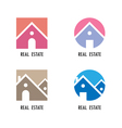 Real estate icons and design elements vector image