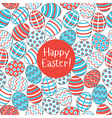 seamless pattern easter vector image vector image