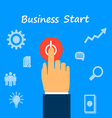 start business vector image vector image
