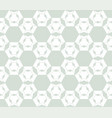 subtle retro vintage geometric seamless pattern vector image