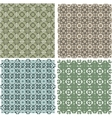 Big vintage plaid patterns set background vector image vector image