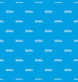 modern high speed train pattern seamless blue vector image vector image