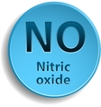 Nitric oxide vector image
