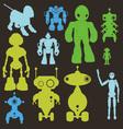 Robot 2 vector image vector image