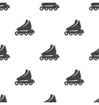 roller skate seamless pattern vector image vector image