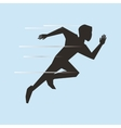 running design sport icon Isolated image vector image vector image
