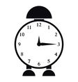 Alarm clock icon simple style vector image vector image