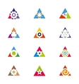 Collection of arrows vector image vector image