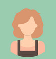 hairstylist characte icon great of character use vector image