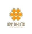 Honey comb icon vector image