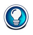 idea web icon vector image vector image