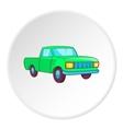 Pickup icon cartoon style vector image vector image