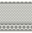 seamless asian pattern vector image vector image