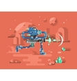 Starship troopers character vector image