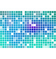 turquoise blue purple occasional opacity mosaic vector image vector image