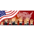 us USA human rights freedom in america united vector image vector image