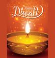 diwali festival flyer and poster background vector image