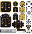justice vector image