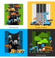 Construction Industry Icons Set vector image vector image