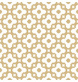 golden ornament in moroccan style vector image