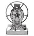 mill vintage vector image vector image