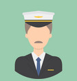 pilot characte icon great of character use for vector image vector image