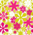 summer floral 1 38 vector image vector image