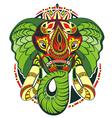 Totem animal Elephant vector image vector image