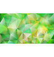 abstract low polygonal background of triangles vector image