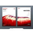 Brochure template layout design corporate