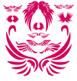 Wings Digital Clipart 2 vector image vector image