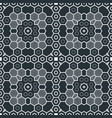 abstract geometric monochrome futuristic pattern vector image