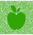 apple green vector image
