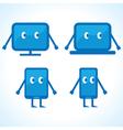 Cartoonish gadget designs stock vector image vector image