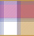 check mosaic tablecloth fabric texture seamless vector image