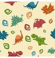 Dino Baby pattern vector image