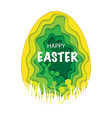 easter paper background vector image vector image