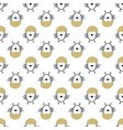 easter seamless pattern with chiks handwritten vector image