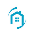 Home protection security logo design house with