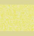 the yellow circle dot bubble mosaic tiles back vector image