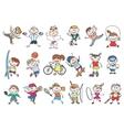 Kids sport activity vector image